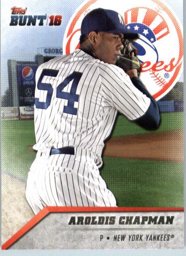 Photo of 2016 Topps Bunt #63 Aroldis Chapman