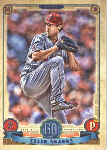 Photo of 2019 Topps Gypsy Queen #231 Tyler Skaggs