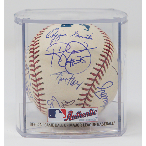 Photo of Padres All-Time Players Signed Baseball (Not MLB Authenticated, COA Included)