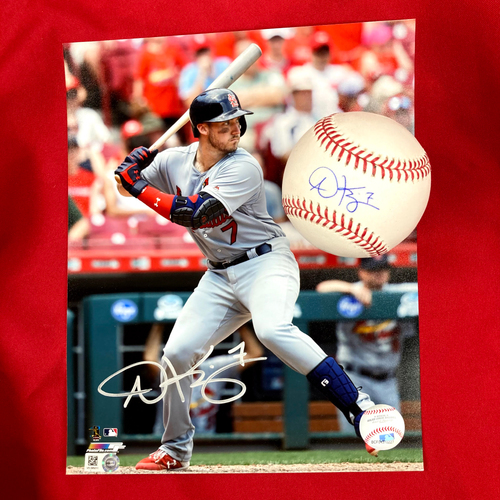 Photo of Andrew Knizner Autographed Baseball and Photo