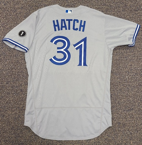 Photo of Authenticated Team Issued Jersey: #31 Thomas Hatch (2020 Season). Set 2. Size 46.