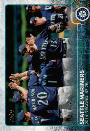 Photo of 2015 Topps #465 Seattle Mariners
