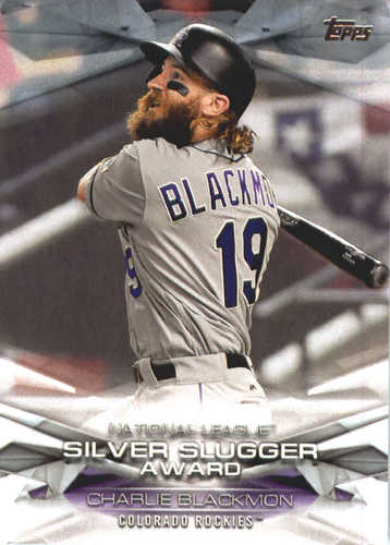 Photo of 2018 Topps MLB Awards #MLBA45 Charlie Blackmon