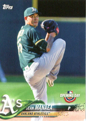Photo of 2018 Topps Opening Day #78 Sean Manaea