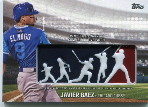 Photo of 2018 Topps Players Weekend Patches #PWPJZ Javier Baez