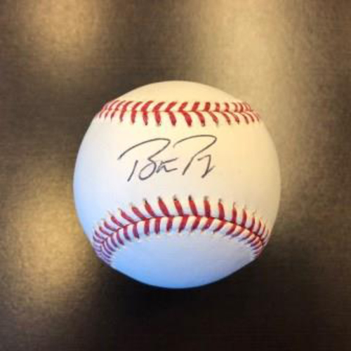 Giants Metallica Auction: Buster Posey Signed Baseball