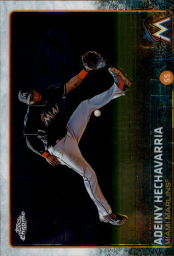 Photo of 2015 Topps Chrome #28 Adeiny Hechavarria