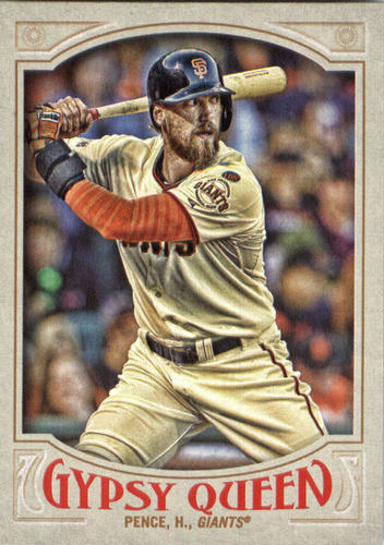 Photo of 2016 Topps Gypsy Queen #209 Hunter Pence
