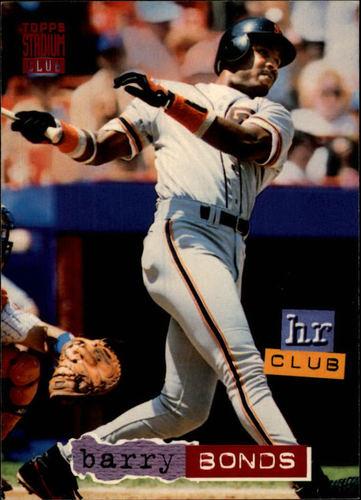 Photo of 1994 Stadium Club #259 Barry Bonds HR