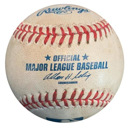 Photo of Game-Used Baseball from Pirates vs. Dodgers on 6/16/13 - Gerrit Cole 2nd Career Start