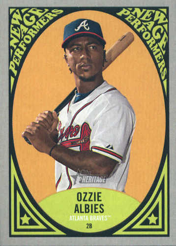 Photo of 2019 Topps Heritage New Age Performers #NAP18 Ozzie Albies