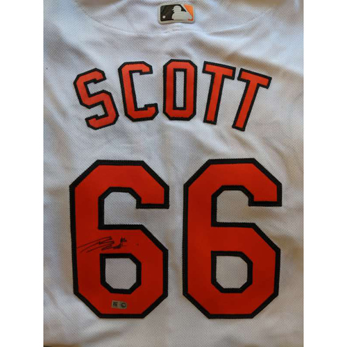 Photo of Tanner Scott - Home Jersey: Autographed (Size 48)