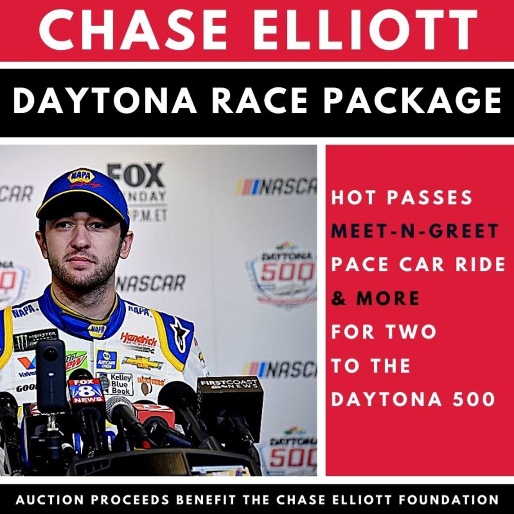 Chase Elliott Daytona 500 Race Fan Package