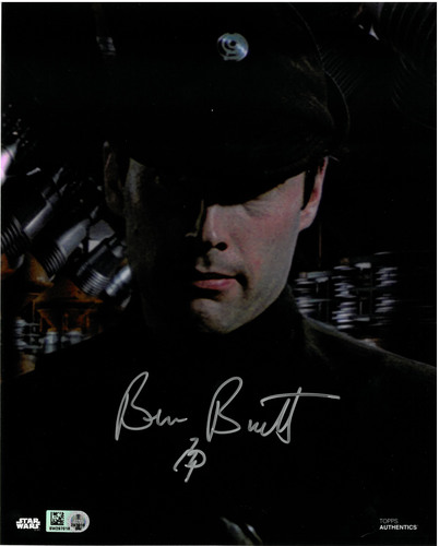 Ben Burtt As Colonel Dyer 8X10 AUTOGRAPHED IN 'Silver' INK PHOTO