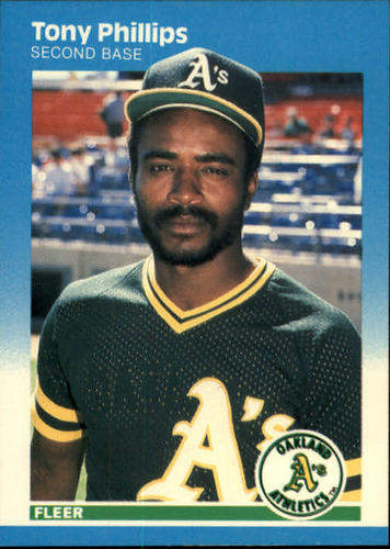 Photo of 1987 Fleer #402 Tony Phillips