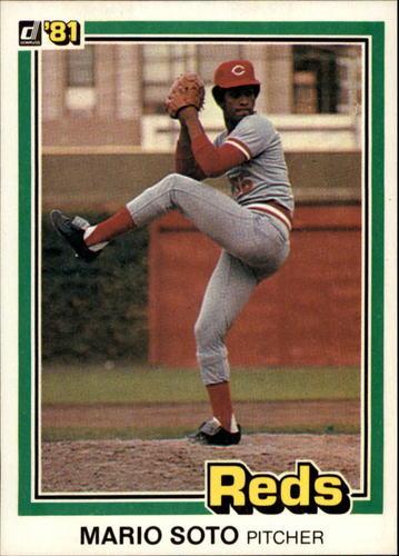 Photo of 1981 Donruss #63 Mario Soto