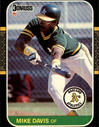 Photo of 1987 Donruss #133 Mike Davis