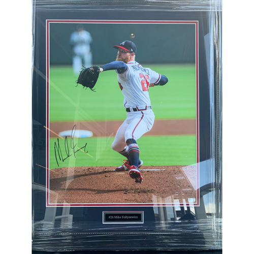 Photo of Mike Foltynewicz Autographed Photo