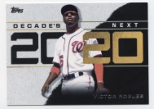 Photo of 2020 Topps Decade's Next #DN20 Victor Robles