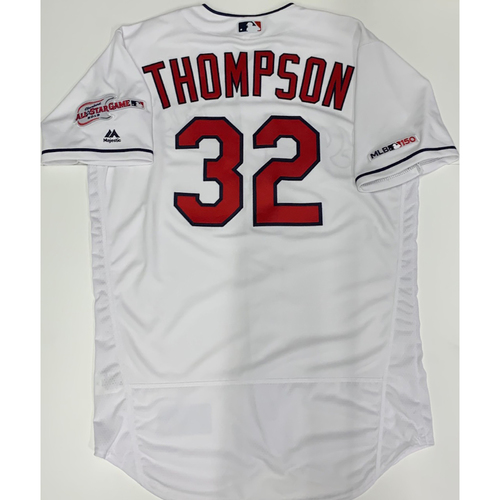 Photo of Trayce Thompson Team Issued 2019 Home Jersey