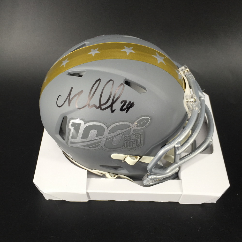 NFL - Browns Nick Chubb Signed Pro Bowl Mini Helmet