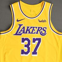 Kostas Antetokounmpo - Los Angeles Lakers - NBA China Games - Game-Worn Icon Edition Jersey - 2019-20 NBA Season