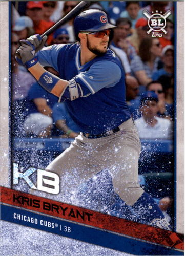 Photo of 2018 Topps Big League Players Weekend Photo Variations #300 Kris Bryant