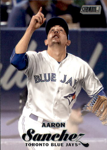 Photo of 2017 Stadium Club #219 Aaron Sanchez