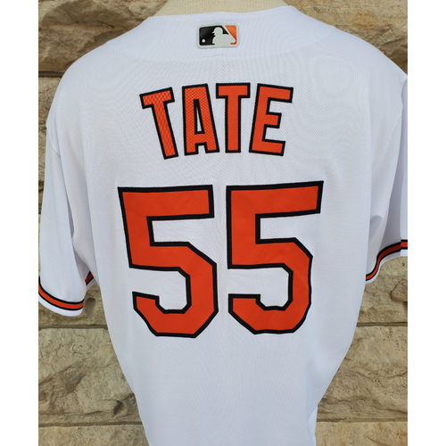 Photo of Dillon Tate: Jersey - 2021 Opening Day - Game Used