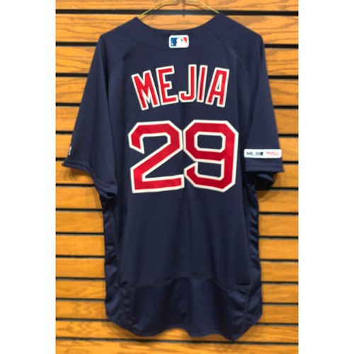 Photo of Jenrry Mejia Team Issued 2019 Road Alternate Jersey