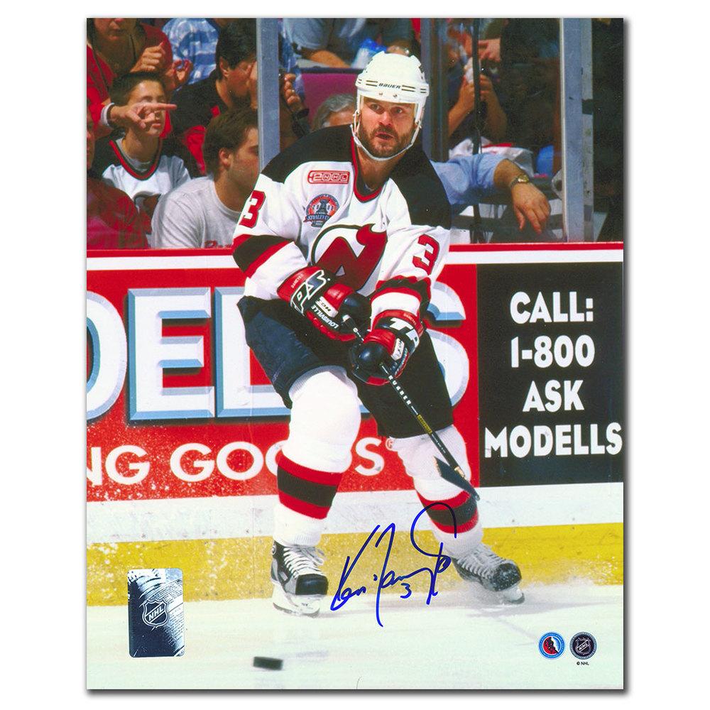 Ken Daneyko New Jersey Devils CAPTAIN Autographed 8x10