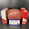 HOF - Rams Isaac Bruce Signed Authentic Football