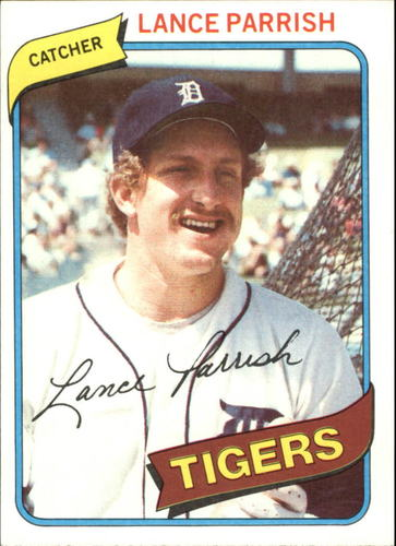 Photo of 1980 Topps #196 Lance Parrish
