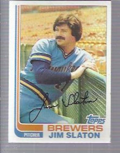Photo of 1982 Topps #221 Jim Slaton