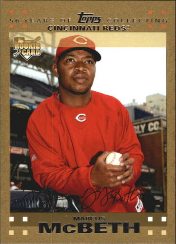 Photo of 2007 Topps Update Gold #195 Marcus McBeth