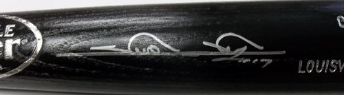Photo of Shin-Soo Choo Autographed Louisville Slugger Bat
