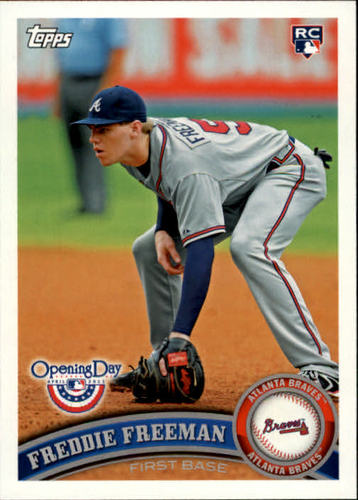 Photo of 2011 Topps Opening Day #70 Freddie Freeman RC