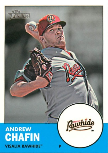 Photo of 2012 Topps Heritage Minors #92 Andrew Chafin