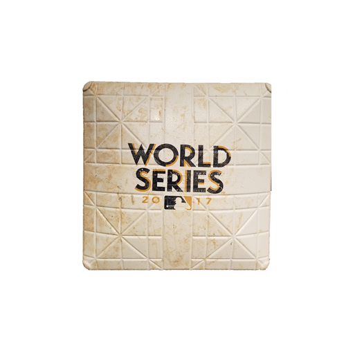 2017 World Series Game 7: First Base, Used During Innings 1-2