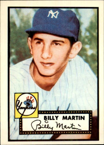 Photo of 1983 Topps 1952 Reprint #175 Billy Martin