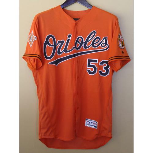 Photo of Zach Britton - Orange Alternate Jersey: Game-Used