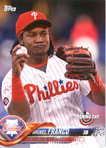 Photo of 2018 Topps Opening Day #80 Maikel Franco