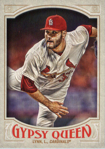 Photo of 2016 Topps Gypsy Queen #214 Lance Lynn
