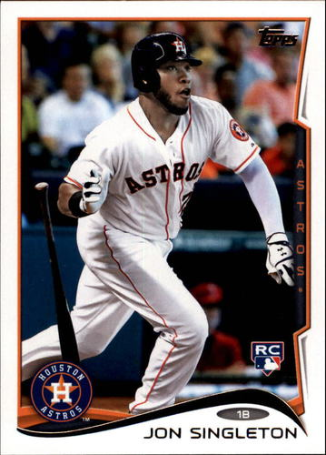 Photo of 2014 Topps Update #US150A Jon Singleton RC