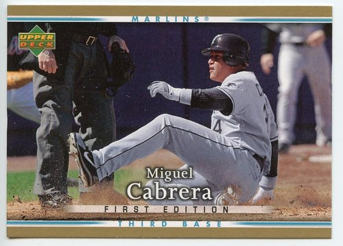 Photo of 2007 Upper Deck First Edition #209 Miguel Cabrera