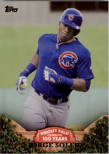 Photo of 2016 Topps 100 Years at Wrigley Field #WRIG31 Jorge Soler