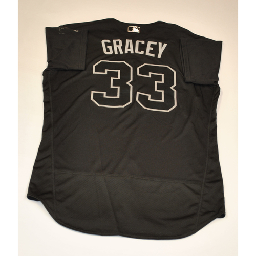 "Photo of Matt ""GRACEY"" Grace Washington Nationals Game-Used 2019 Players' Weekend Jersey"