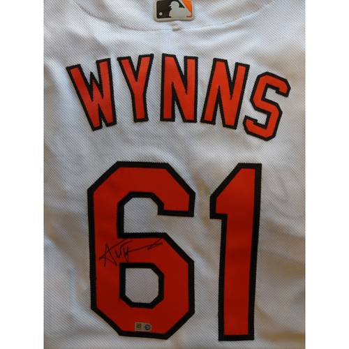 Photo of Austin Wynns - Home Jersey: Autographed (Size 48)