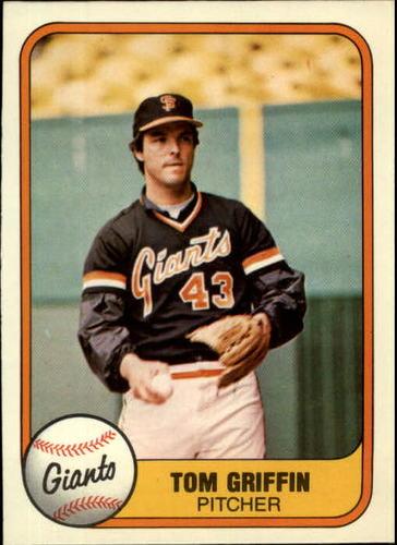 Photo of 1981 Fleer #456 Tom Griffin
