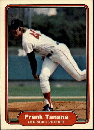 Photo of 1982 Fleer #309 Frank Tanana